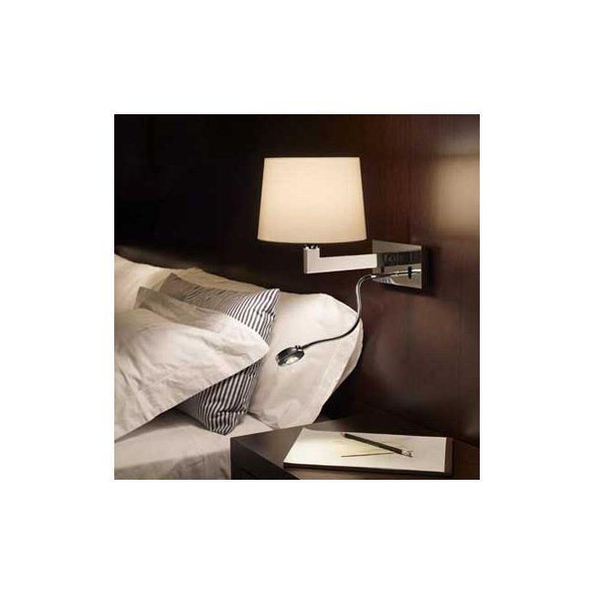 Lexa FL Horizontal Backplate Wall Lamp by Bover   1020506U+P-633E