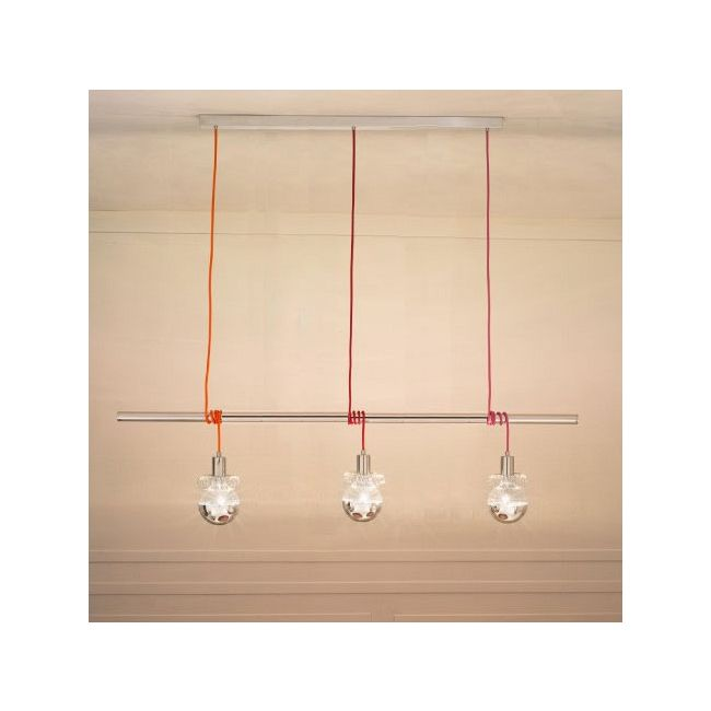 Ideabarra Suspension by Lightology Collection   LC-IDEABARRA-70/S3-MULTI