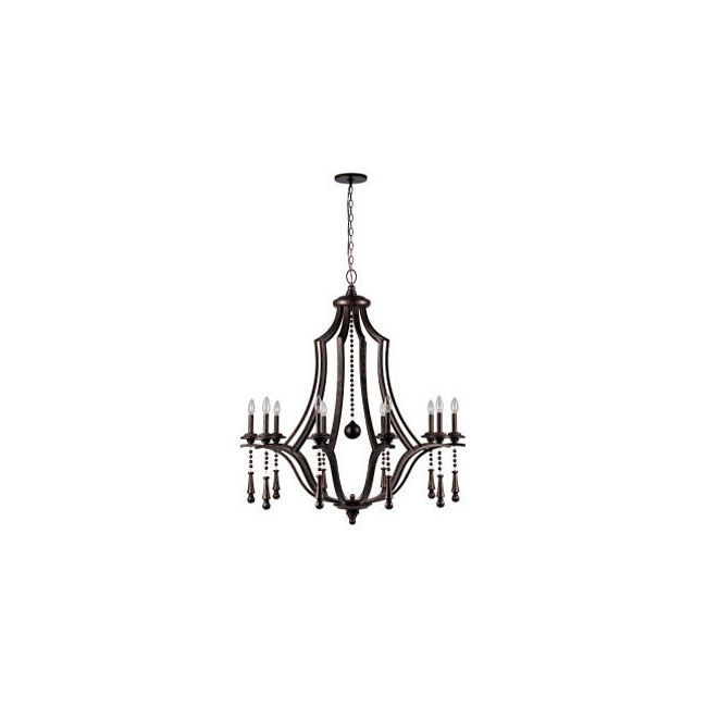 Parson 9359 Chandelier by Crystorama | 9359-EB
