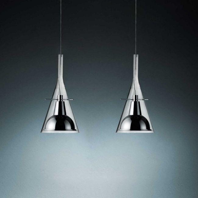 Flute Multi Light Pendant by Fontana Arte   UL3337/2