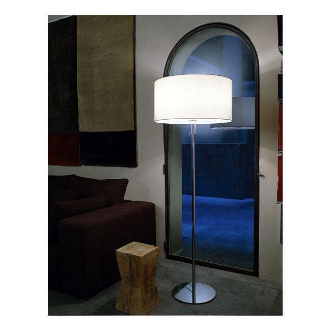 Aitana Large Floor Lamp by Carpyen | AITANA-FL-L-WH-GY