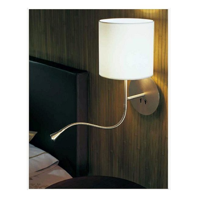 Hotel Python Wall Light by Carpyen | HOTELPYTHR-WC-WH-NI