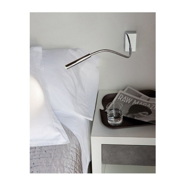 Oliver Swing Arm Wall Light by Carpyen | OLIVER-WC-CH