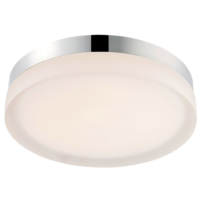 Slice Round Wall/Ceiling Light by dweLED by WAC Lighting | FM-4109-30-CH