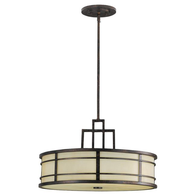 Fuison Pendant by Feiss | F2081/3GBZ