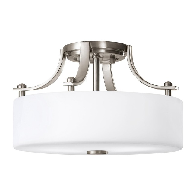 Sunset Drive Semi Flush Ceiling Light by Feiss | SF259BS