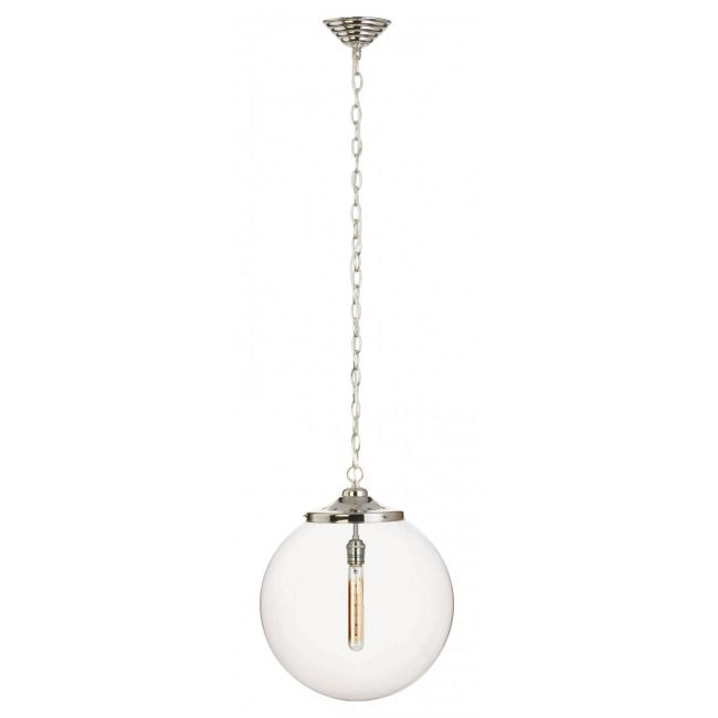 Kilo 1 Light Tube Pendant with Chain by Stone Lighting | CH520CRPNRT4A