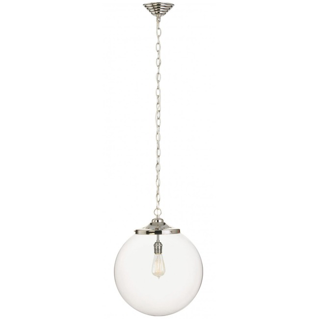 Kilo 1 Light Retro Pendant with Chain by Stone Lighting | CH520CRPNRT6B
