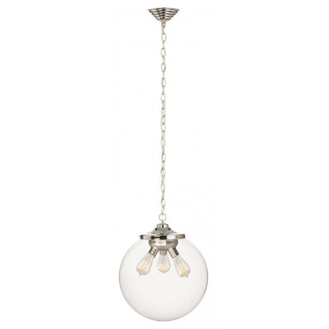 Kilo 3 Light Retro Pendant with Chain by Stone Lighting | CH522CRPNRT6B