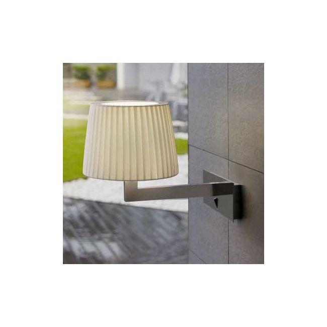 Lexa Horizontal Backplate Wall Lamp by Bover | 1320505U+P-635E