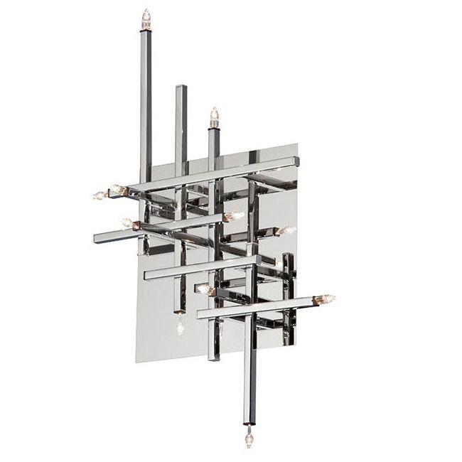 Mondrian Wall / Ceiling Light Fixture by Dainolite | CG8611FH-PC