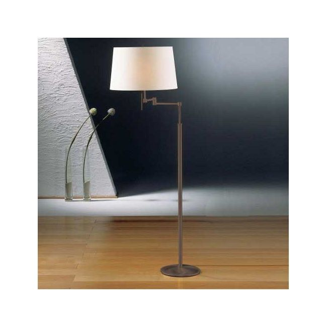 2541 Fabric Shade Swing Arm Floor Lamp by Holtkoetter | 2541 SN SW