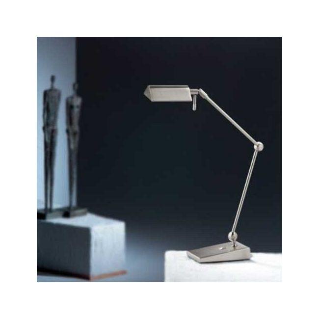 Two Tone LED Desk Lamp by Holtkoetter | 9603LED SN