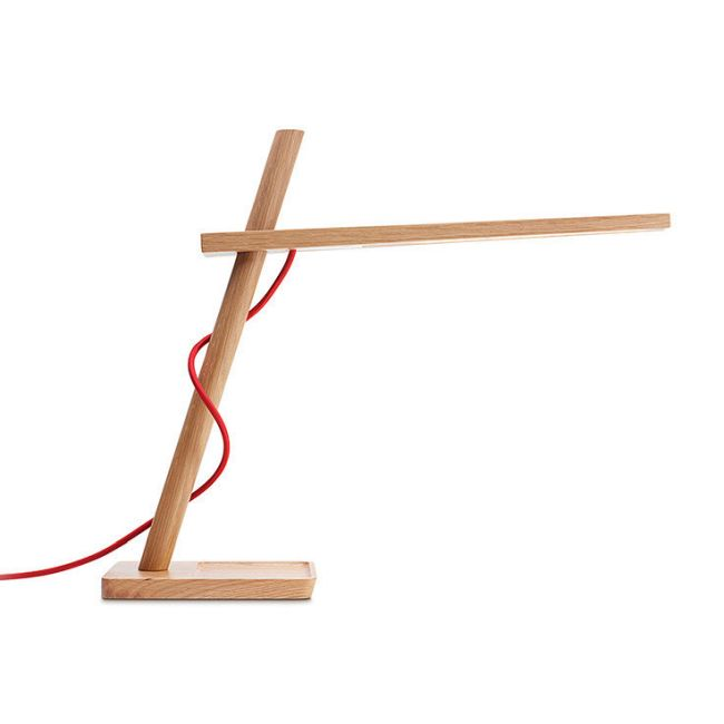 Clamp Mini Table Lamp by Pablo | CLAM MINI WHT OAK