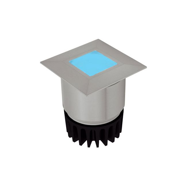 Sun3 Square RGB LED Recessed Uplight/Steplight  by PureEdge Lighting