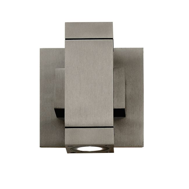 Taos Square ELV Dimmable LED Wall Sconce by PureEdge Lighting | TAOS-W-SQ-ELV-SA