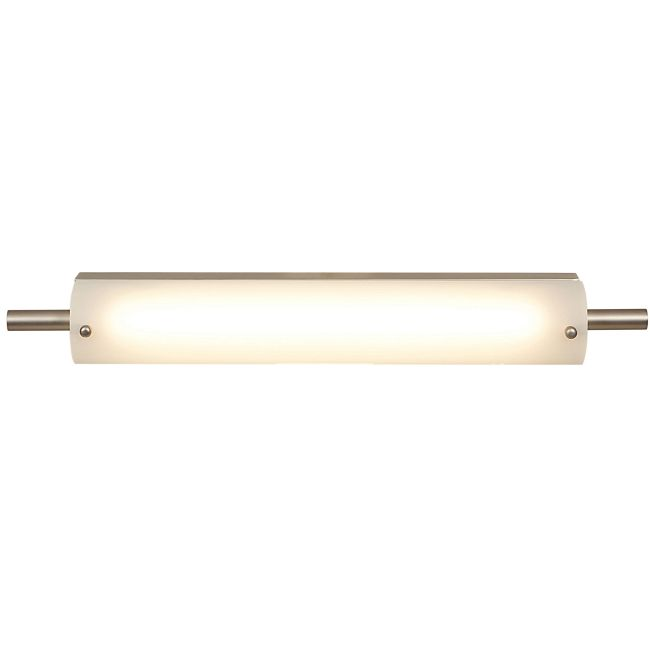 Vail Small Bathroom Vanity Light Brushed Steel  by Access