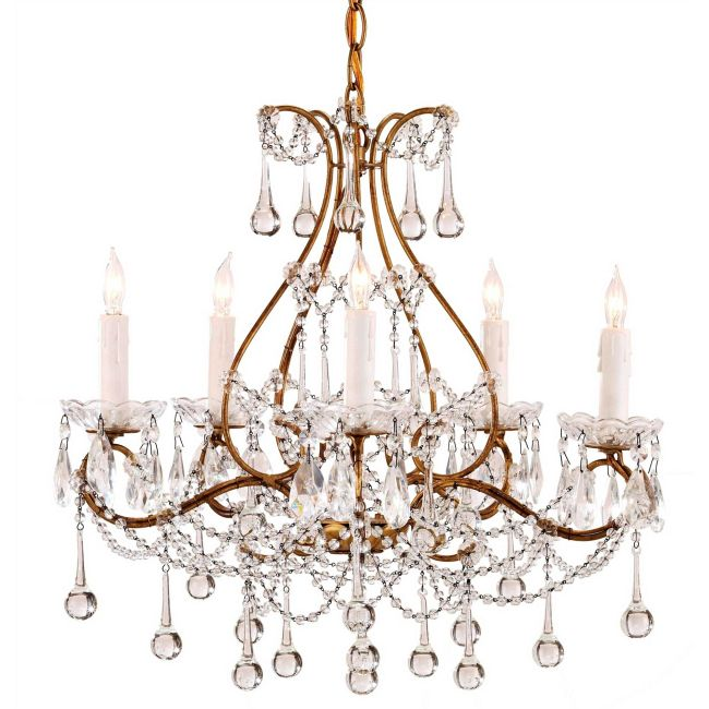 Paramour Chandelier by Currey and Company | 9008-CC