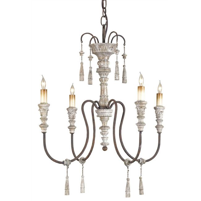 Hannah Chandelier by Currey and Company | 9118-CC