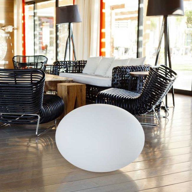 Flatball Bluetooth Indoor/Outdoor Ball Light by Smart & Green | FC-FLATBALL XL