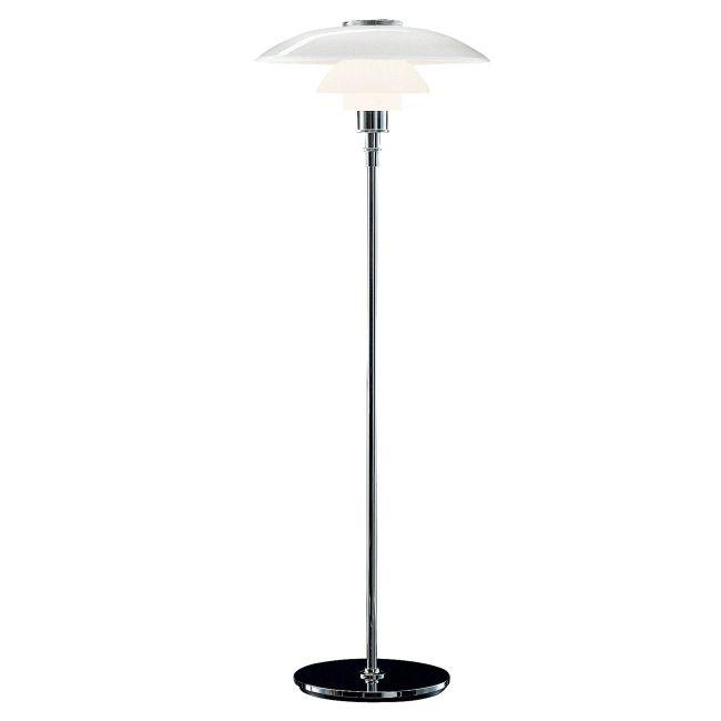 PH 4.5 - 3.5 Glass Floor Lamp by Louis Poulsen | 5844901266