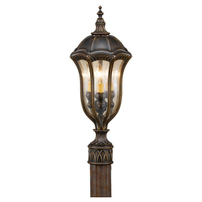 Baton Rouge Outdoor Post by Feiss | OL6007WAL