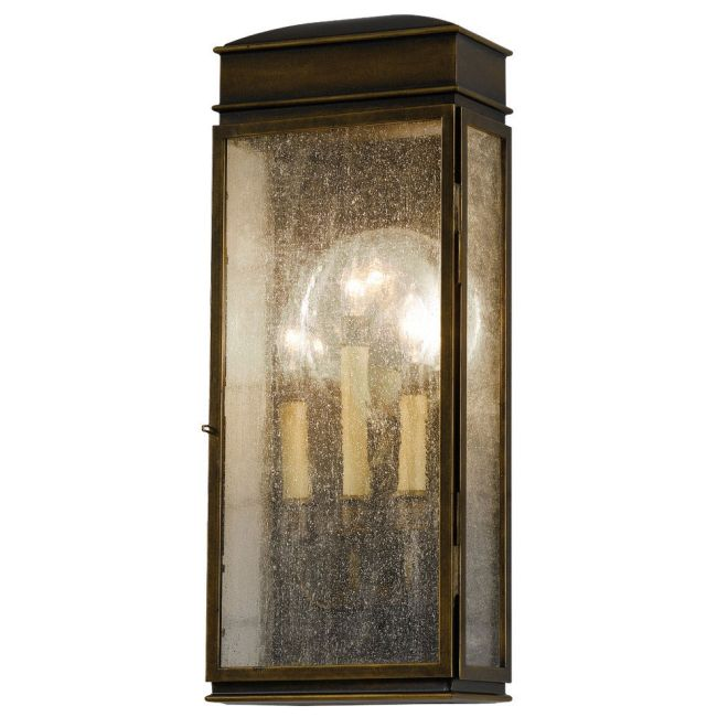 Whitaker Outdoor Wall Sconce by Feiss | OL7402ASTB