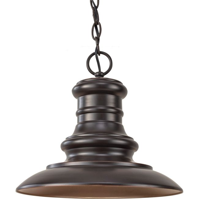 Redding Station Outdoor Pendant  by Feiss