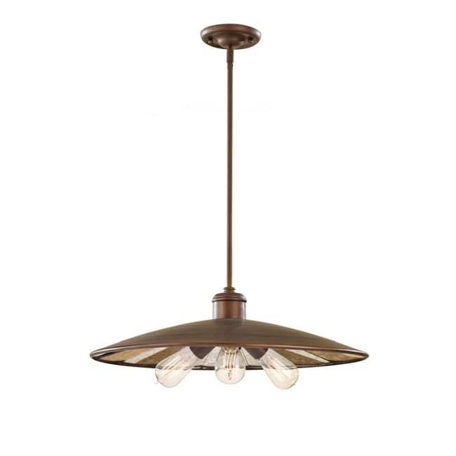 Urban Renewal 1281 Pendant by Feiss | P1281ASTB