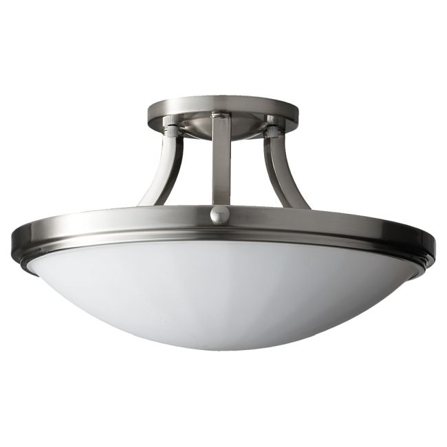 Perry Semi Flush Ceiling Light by Feiss   SF283BS