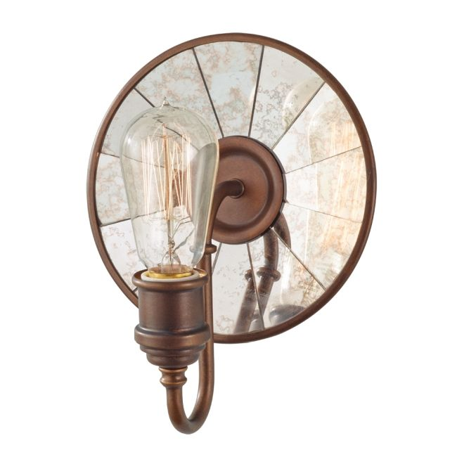Urban Renewal Wall Sconce by Feiss | WB1701ASTB