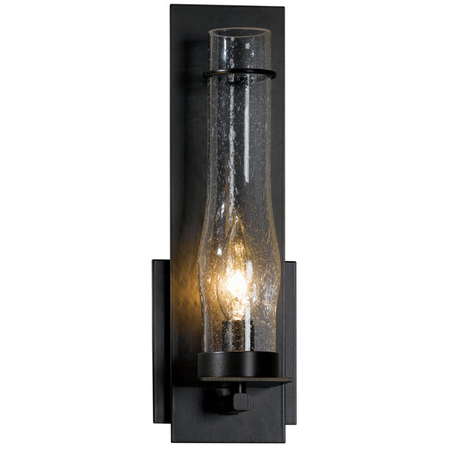New Town Clear Seeded Wall Light by Hubbardton Forge | 204250-1002