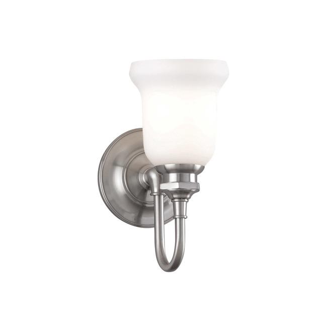 Plymouth Bathroom Vanity Light by Hudson Valley Lighting | 3801-SN