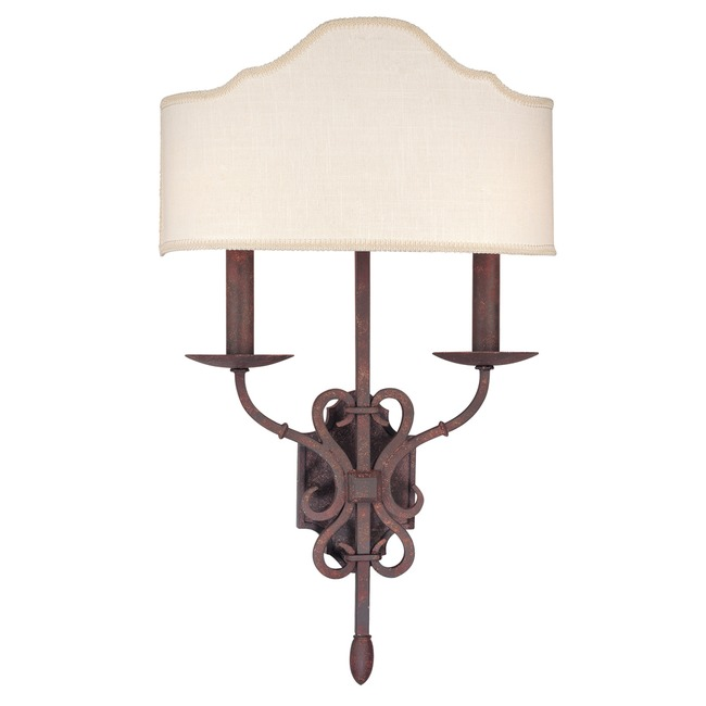 Seville Wall Sconce by Troy Lighting   B2522WI