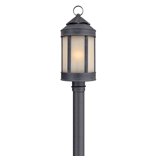 Andersons Forge Outdoor Post Light by Troy Lighting | P1465AI