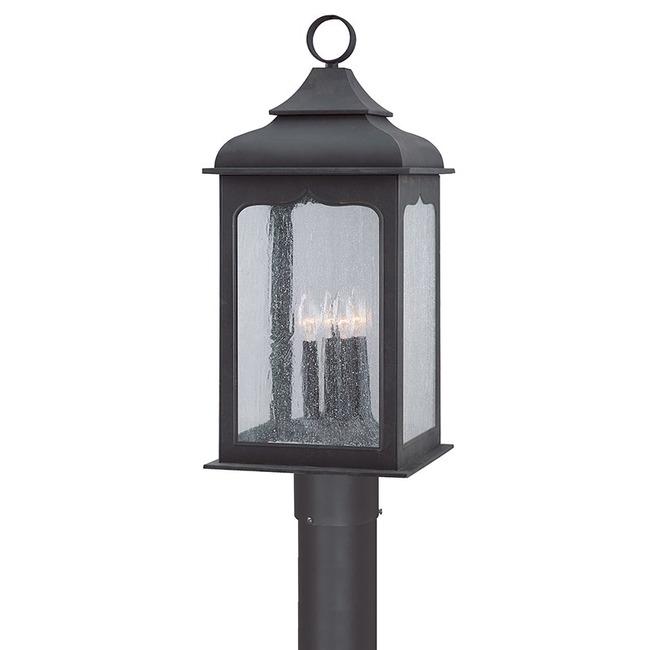 Henery Street Outdoor INC Post Light by Troy Lighting | P2016CI