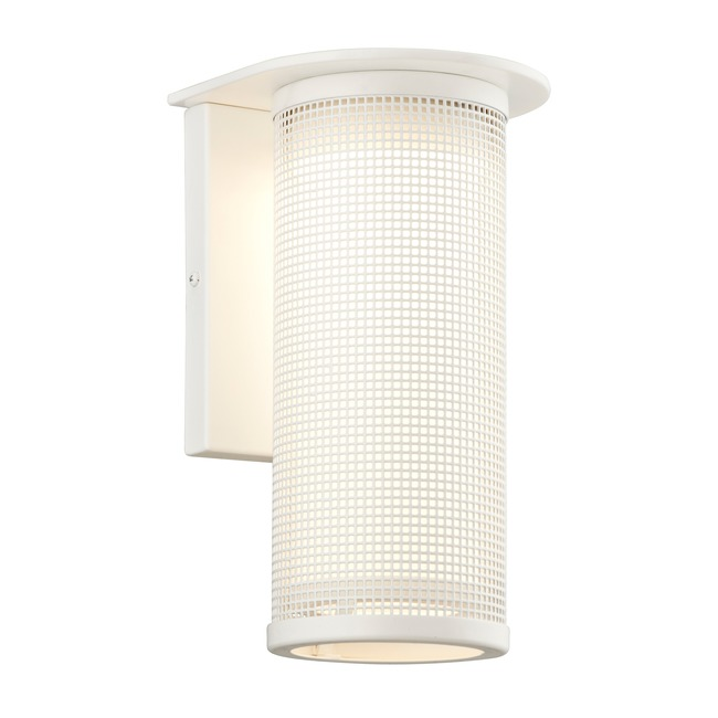 Hive Outdoor Wall Light by Troy Lighting   B3743WT