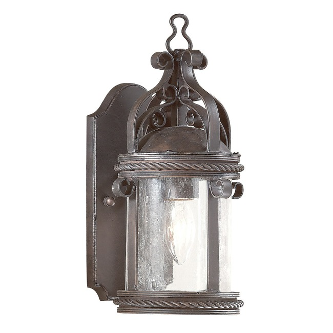 Pamplona Outdoor Pocket Wall Sconce by Troy Lighting | BCD9120OBZ
