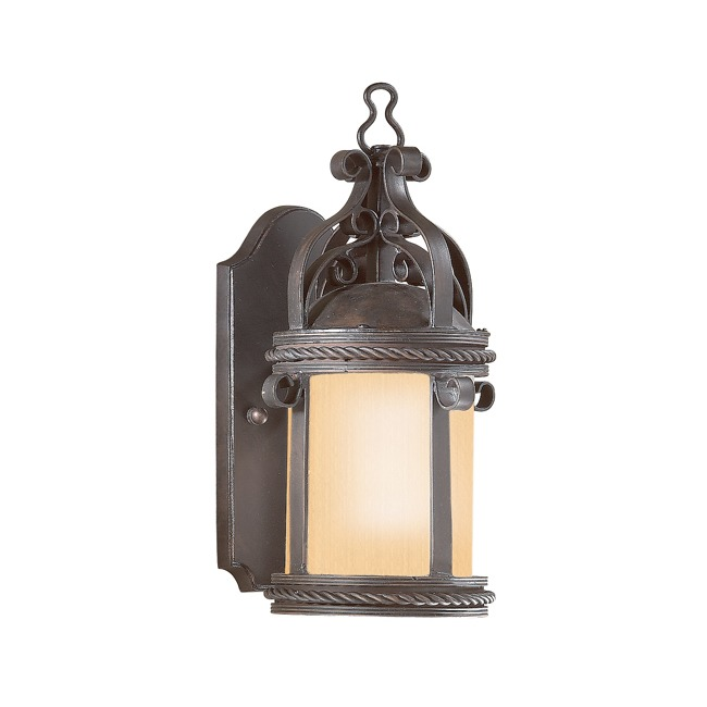 Pamplona Outdoor Pocket Wall Sconce by Troy Lighting | BF9120OBZ