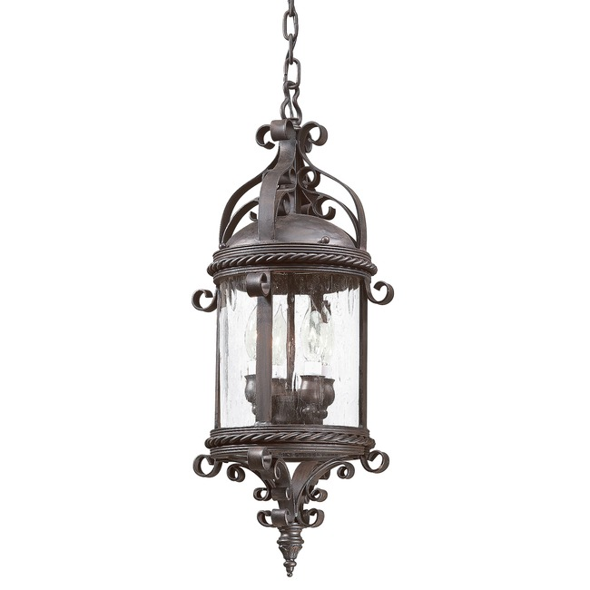 Pamplona Outdoor Pendant by Troy Lighting | FCD9124OBZ