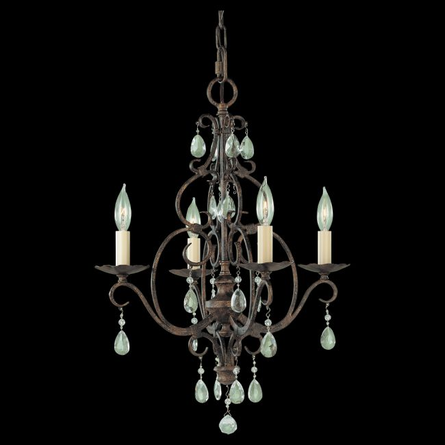 Chateau chandelier by feiss f19044mbz aloadofball Images