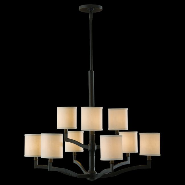 Stelle Two Tier Chandelier by Feiss | F2520/6+3ORB