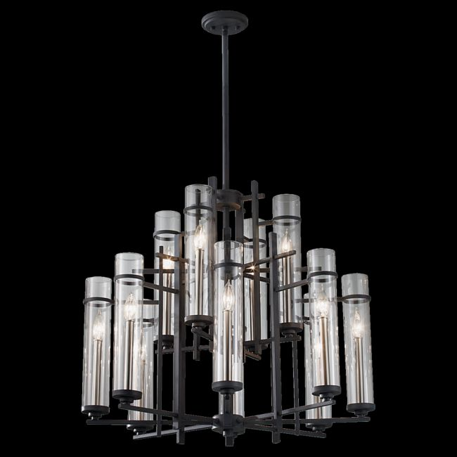 Ethan Multi Tier Chandelier  by Feiss