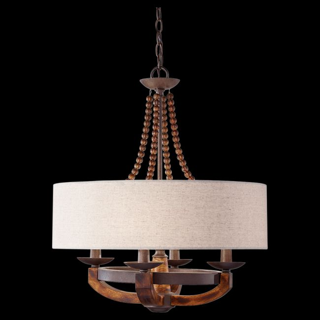 Adan Suspension by Feiss | F2752/4RI/BWD
