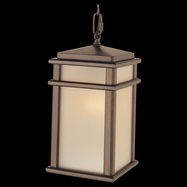 Mission Lodge Outdoor Pendant by Feiss | OL3411CB