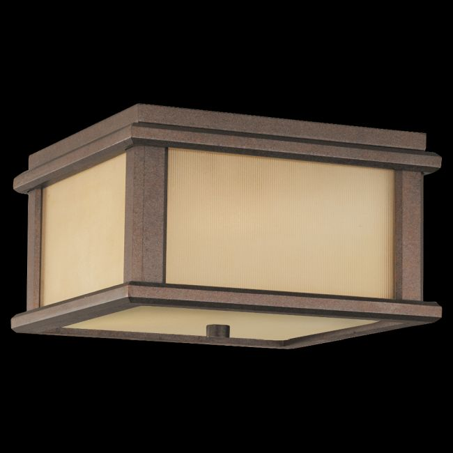Mission Lodge Outdoor Ceiling Light by Feiss | OL3413CB