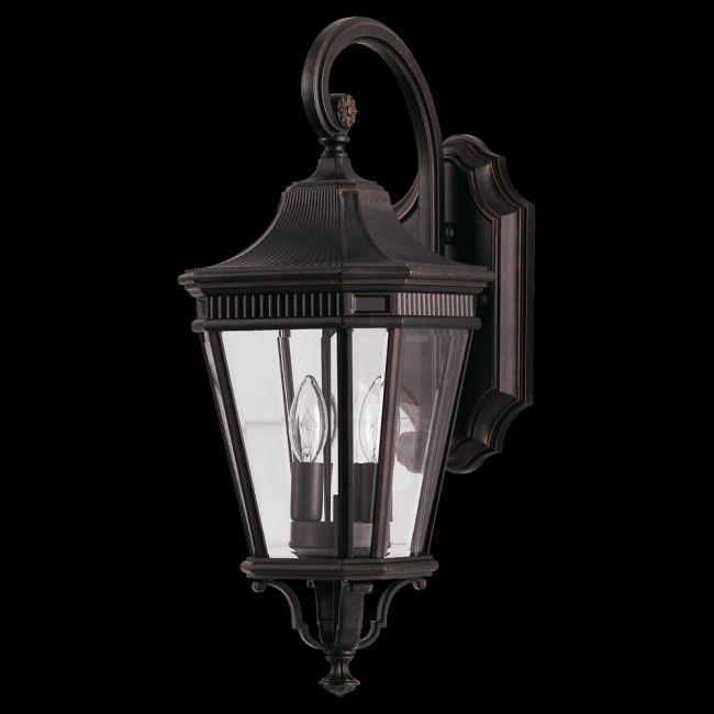 Cotswold Lane Outdoor Lantern Wall Light by Feiss | OL5401GBZ
