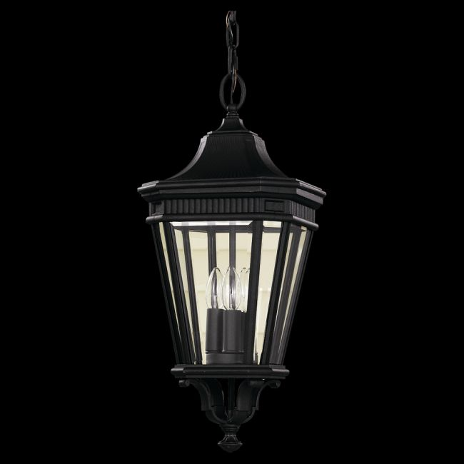Cotswold Lane Outdoor Pendant by Feiss | OL5411BK