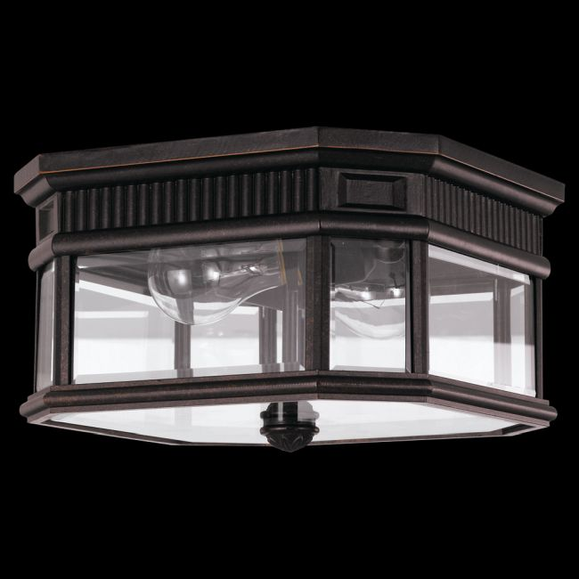 Cotswold Lane Outdoor Ceiling Light Fixture by Feiss | OL5413GBZ