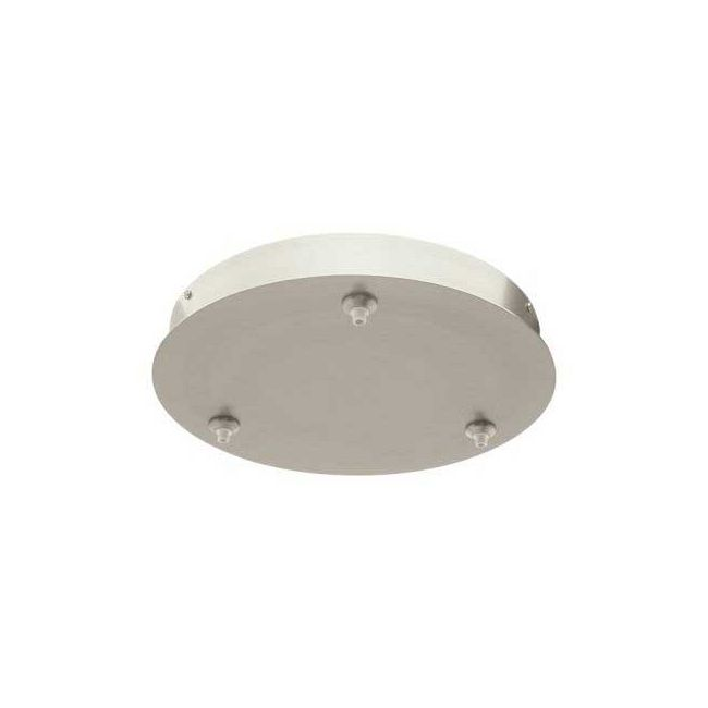 Fast Jack LED 12 Inch Round 3 Port Canopy by PureEdge Lighting | FJP-12RD-LED-3-SN